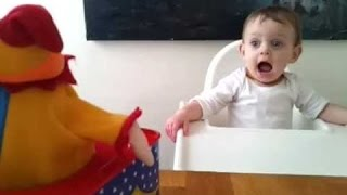 Funny Babies Scared of Jack in the Box Toy Compilation 2015