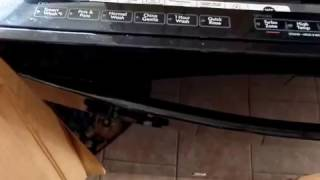 kenmore elite dishwasher diagnostics model 665.127