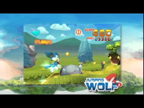 Video of Jumping Wolf 3D