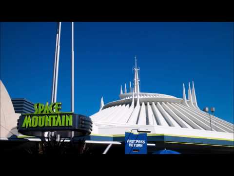 Space Mountain Star Tunnel Music (Queue Audio) Starport Ambient