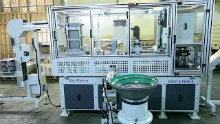HANDLE WELDING & PIERCING MACHINE FOR RECTANGULAR ENDS