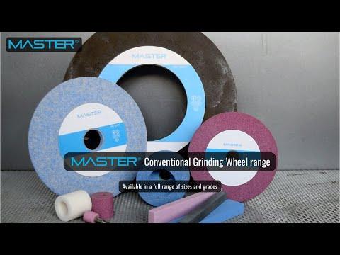 Master Conventional Grinding Wheel Range