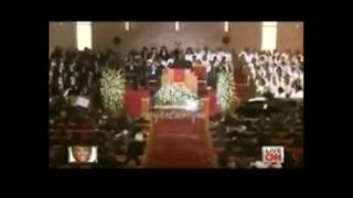 Pastor Marvin Winans - Never Grow Old [Whitney Houston Homegoing Service]