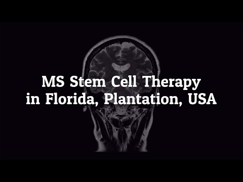 Things to Know about MS Stem Cell Therapy in Florida, Plantation, USA