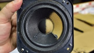 How to refurbish the speaker cone at home? DEMONSTRATION Do It Yourself DIY - TIPS AND TRICKS (4.)