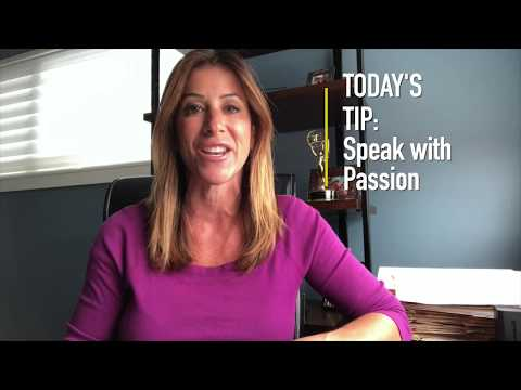 Speak with Passion Tip of the Day by Wendy Saltzman Philly Power Media
