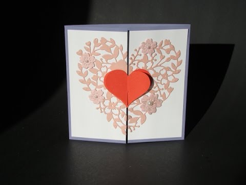 Interlocking Heart Card