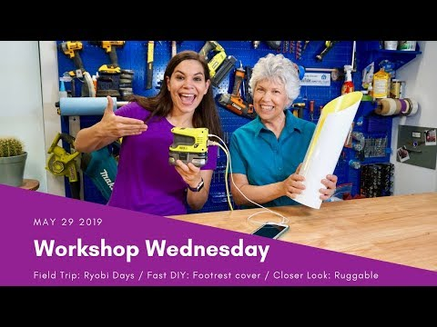 Power Your Lamp with this Portable Battery // Workshop Wednesday Show
