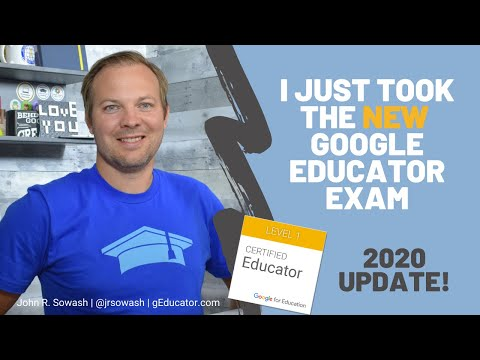 This is what you can expect on the Google Educator Exam (2020 ...