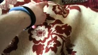 Ева спит под одеялом 25.04.2015