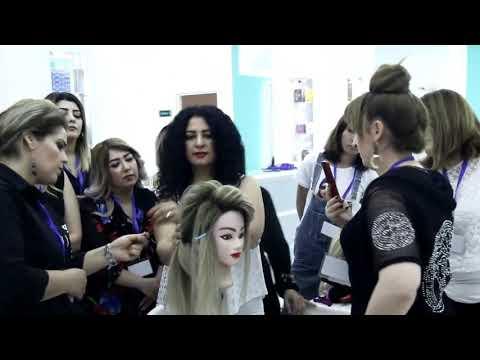 CH  Master class Baku . Topuz hairstyle hair stylist