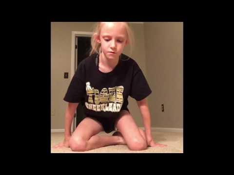 My Gymnastics Stretching Routine!