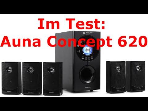 Im Test: Auna Concept 620 - multifunktionelles Lautsprechersystem - erster Eindruck spitze, ABER...