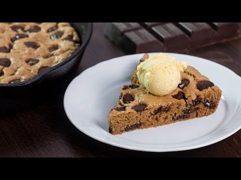 Video Skillet Chocolate Chip Cookie Recipe