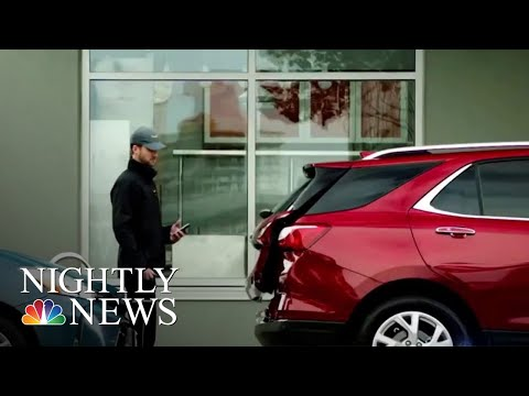 Amazon Introduces In-Car Delivery Service | NBC Nightly News