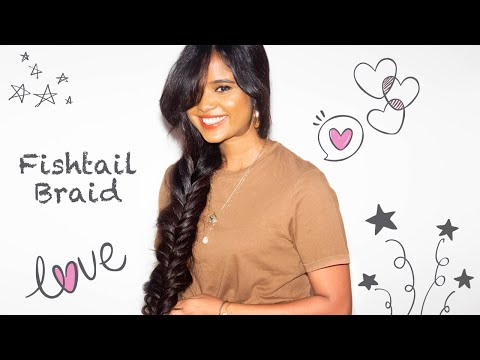 HOW TO : FISHTAIL BRAID HAIRSTYLE