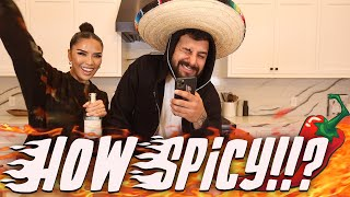 TRYING OUT OUR SUBSCRIBERS SALSAS | iluvsarahii