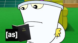 The Holy Bibble | Aqua Teen Hunger Force Forever | Adult Swim