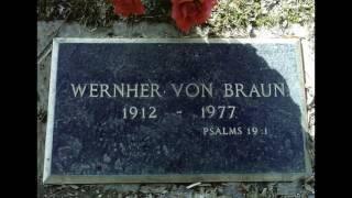 Does Werner Von Braun's Gravestone Prove Flat Earth?