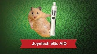 Joyetech eGo AIO D22: 2300 мАч, подсветка клиромайзера, 22х106,5 мм от компании Большая ярмарка - видео
