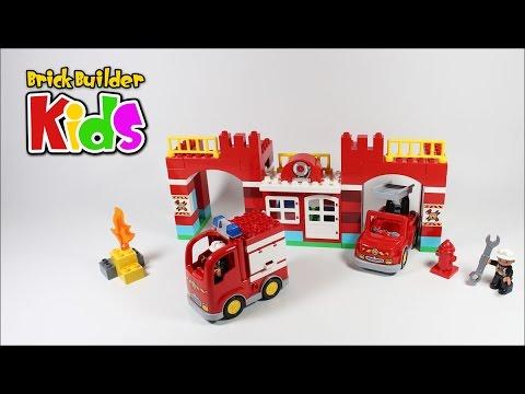 Vidéo LEGO Duplo 10593 : La caserne des pompiers