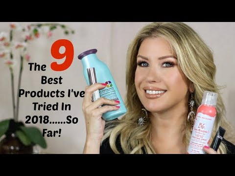 video thumbnail THE  9 BEST BEAUTY PRODUCTS I'VE TRIED IN 2018......SO FAR