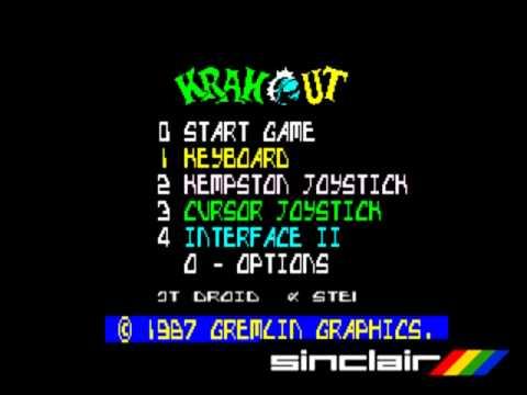 C64 Vs, ZX: Krakout (1987)