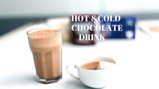 Hot Chocolate & Cold Chocolate Drink || ഹോട്ട് ചോക്ലേറ്റ് & കോൾഡ് ചോക്ലേറ്റ് ഡ്രിങ്ക് || Ep:572