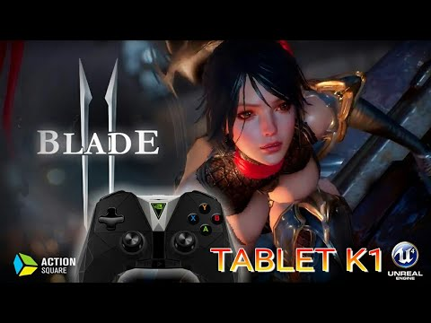Lineage 2 Revolution with NVIDIA K1 Gaming Tablet and