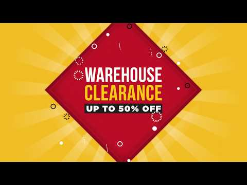 Warehouse Clearance Event