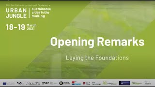 WU International Symposium URBAN JUNGLE: Opening remarks – Laying the Foundations