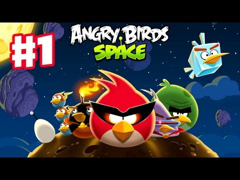 Angry Birds Space – Gameplay Walkthrough Part 1 – Pig Bang Level Teaser