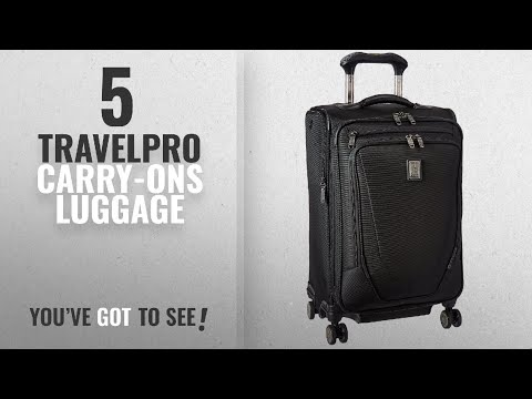 """Travelpro Carry-Ons Luggage [2018]: Travelpro Crew 11 21"""" Expandable Spinner Carry-on Suiter"""