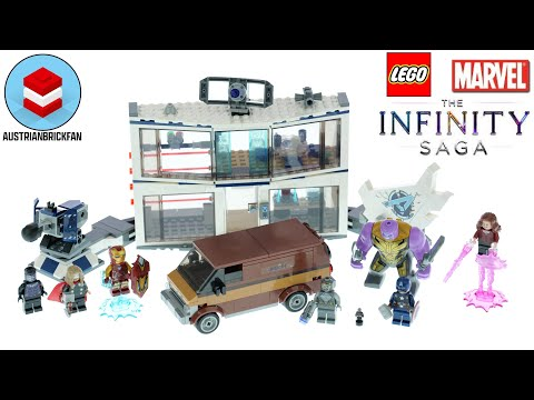 Vidéo LEGO Marvel 76192 : Le combat final d'Avengers: Endgame