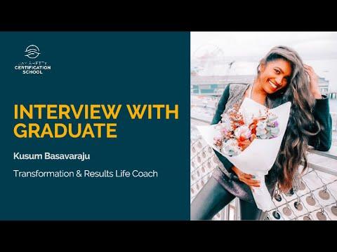 Graduate Interview - Kusum Basavaraju, Transformation & Results ...