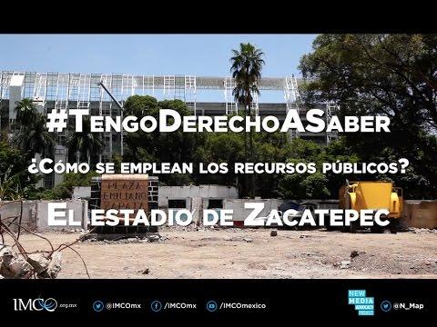 #TengoDerechoASaber - El estadio de Zacatepec