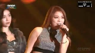[MAMA 2014] 141203 Girl's Day Ft Ailee - Problem (Special Stage)