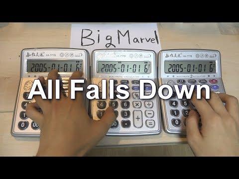 Alan Walker - All Falls Down Calculator Cover