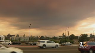 Air Quality Worsens As Wildfires Blanket Bay Area With Heavy Smoke