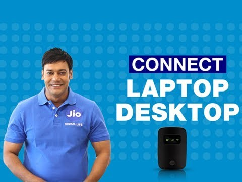 How to Connect JioFi to your Laptop or Desktop?
