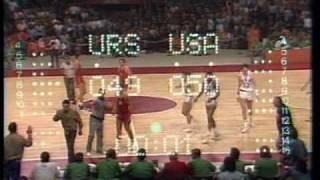 Olympic Games 1972 Drama Finale Basket USA USSR