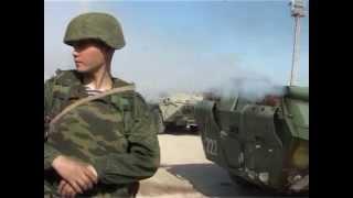 Часть морской пехоты в Феодосии подняла русский флаг