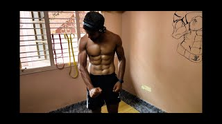 8 Packs promise | Home abs workout | DAY-01 | Upper abs focused workout.