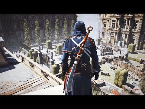 Assassin's Creed Unity - Master Assassin Stealth Kills Gameplay - PC RTX 2080 Showcase