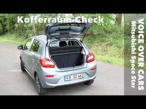 2019 Mitsubishi Space Star Kofferraum Check Test Review Platz Volumen Ladekantenhoehe