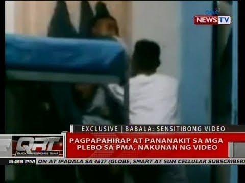 [GMA]  QRT: Pagpapahirap at pananakit sa mga plebo sa PMA, nakunan ng video