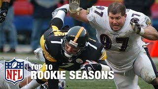 Top 10 Rookie Seasons in NFL History   #ThrowbackThursday   NFL NOW