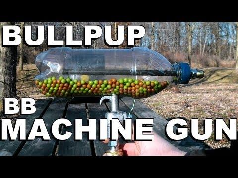 DIY Rapid-Fire Pellet Gun Shoots Your Eye Out