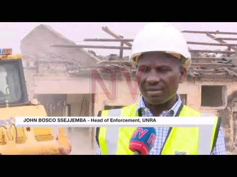 Structures demolished in Kampala as fly over construction begins