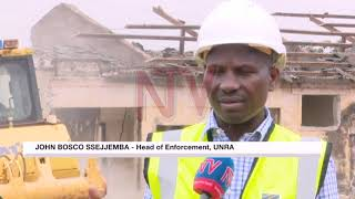 Preliminary works on the Kampala Flyover Construction and Road